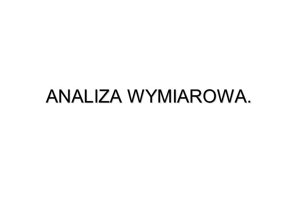ANALIZA WYMIAROWA.