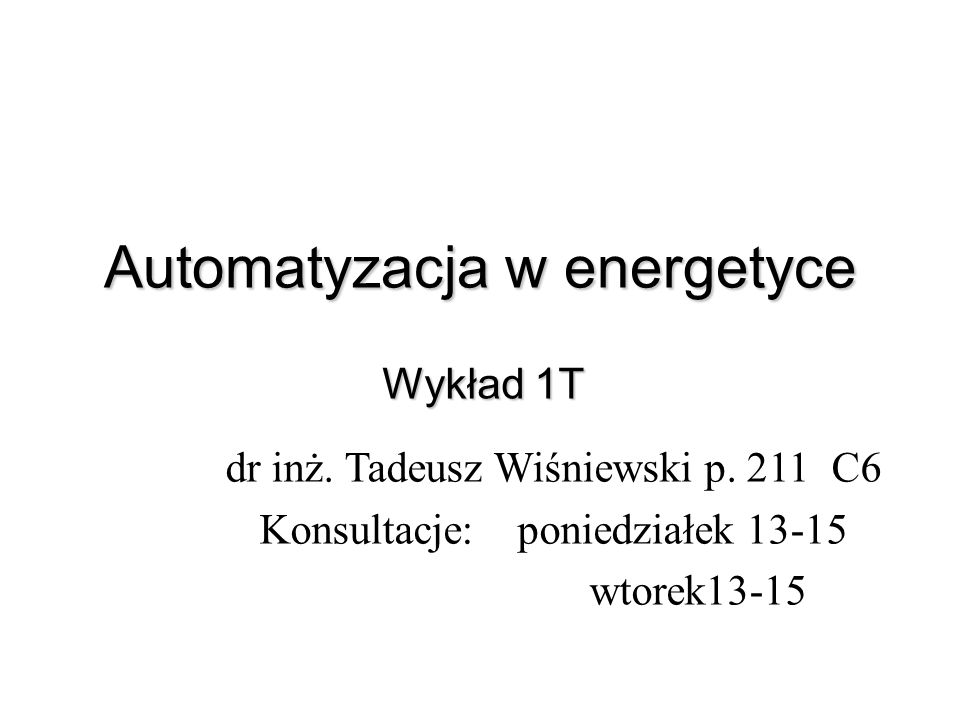 Automatyzacja w energetyce