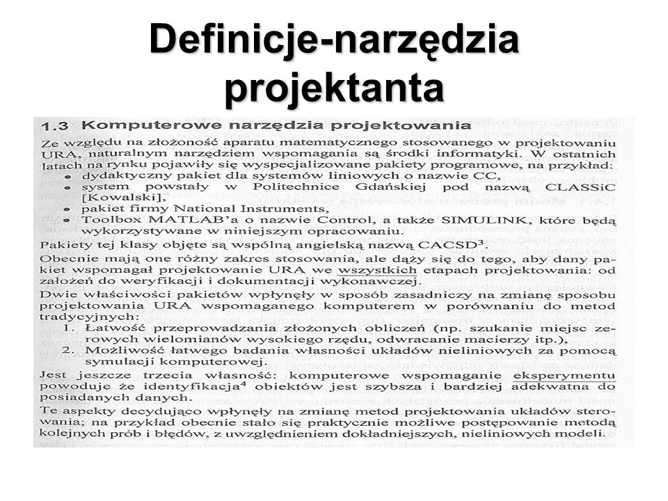 Definicje-narzędzia projektanta