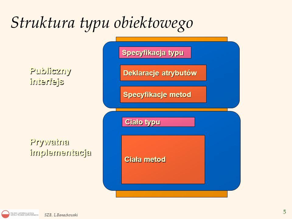 Struktura typu obiektowego