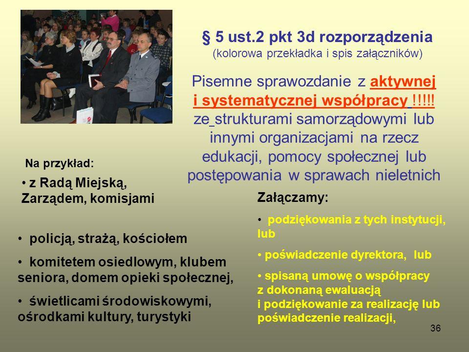 § 5 ust.2 pkt 3d rozporządzenia