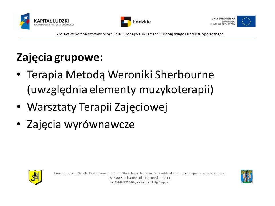 Terapia Metodą Weroniki Sherbourne (uwzględnia elementy muzykoterapii)