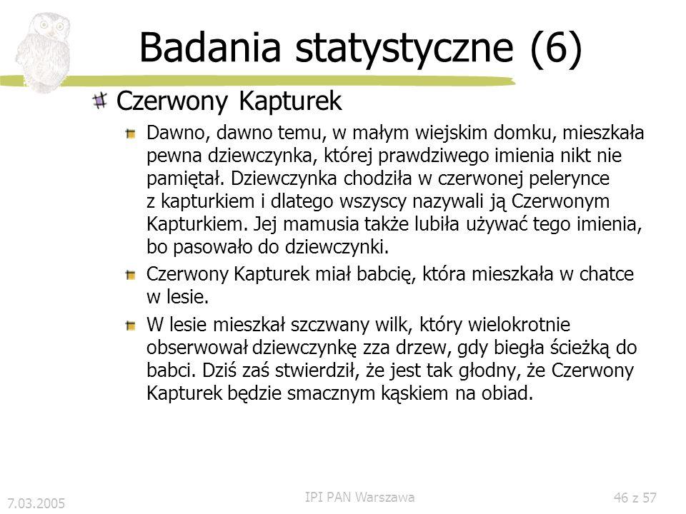 Badania statystyczne (6)