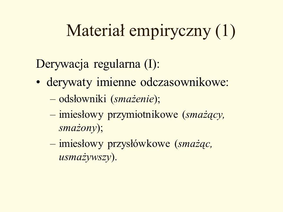 Materiał empiryczny (1)