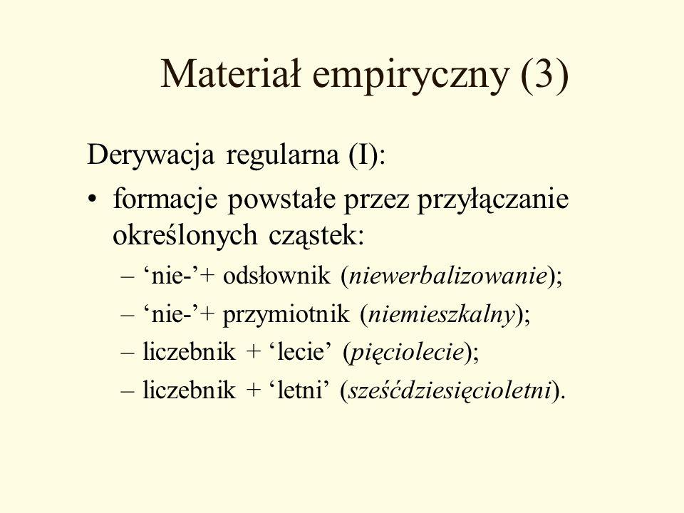 Materiał empiryczny (3)