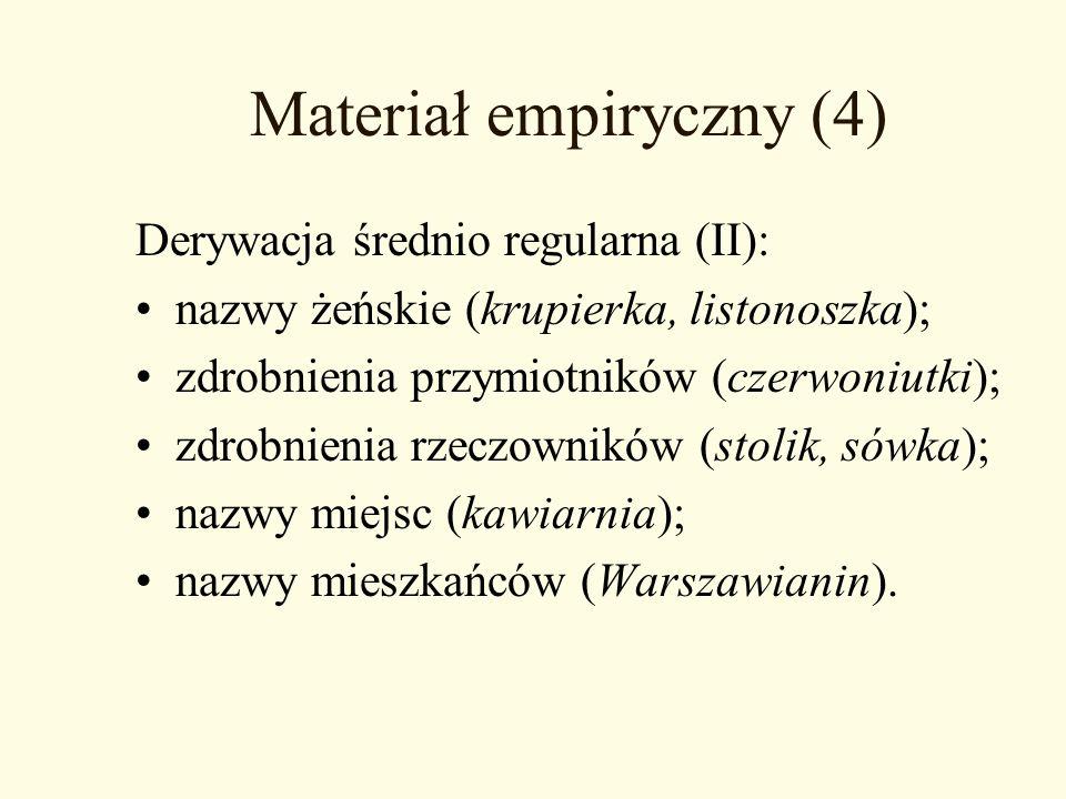 Materiał empiryczny (4)