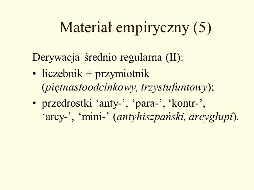 Materiał empiryczny (5)