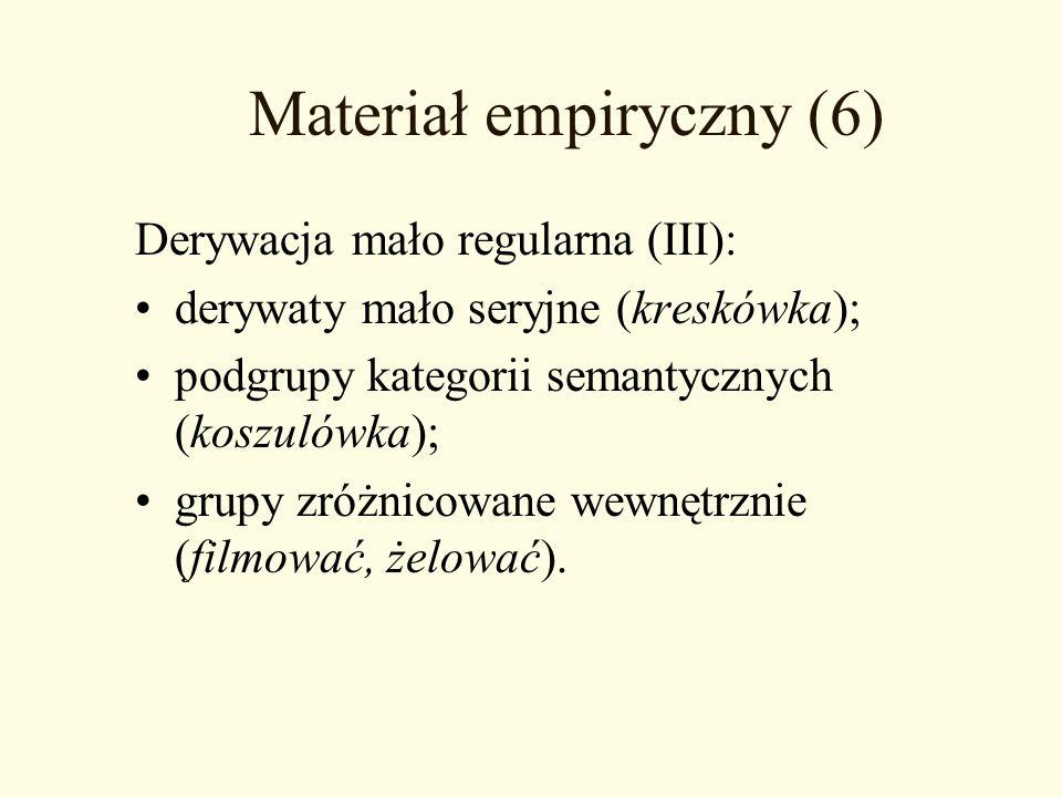 Materiał empiryczny (6)