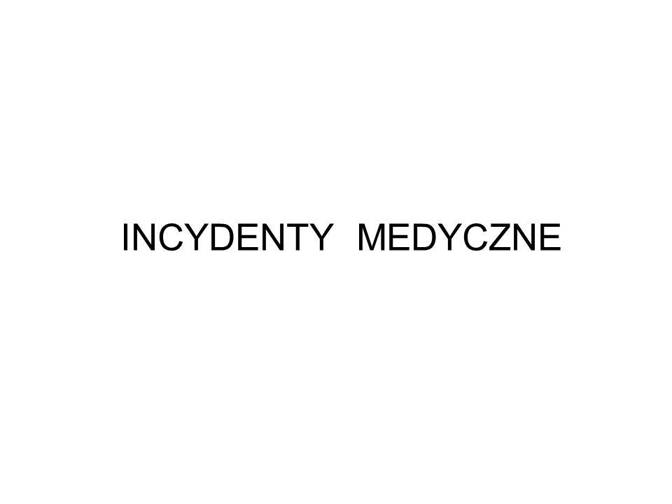 INCYDENTY MEDYCZNE