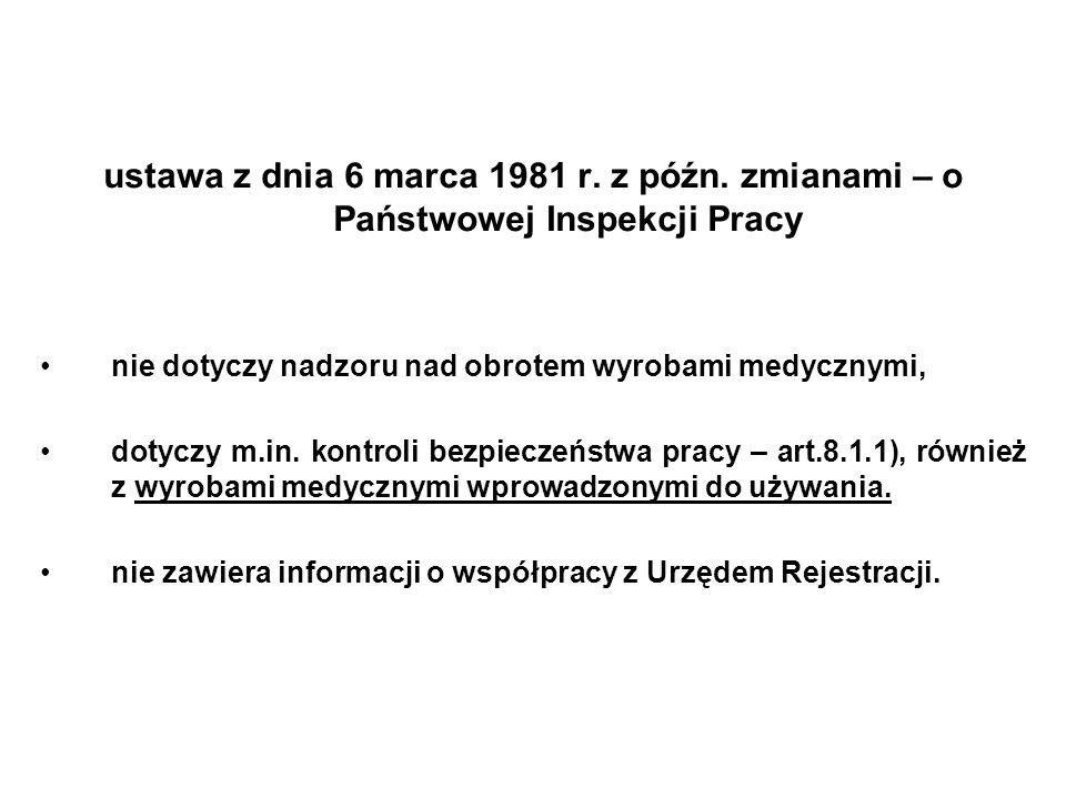 ustawa z dnia 6 marca 1981 r. z późn