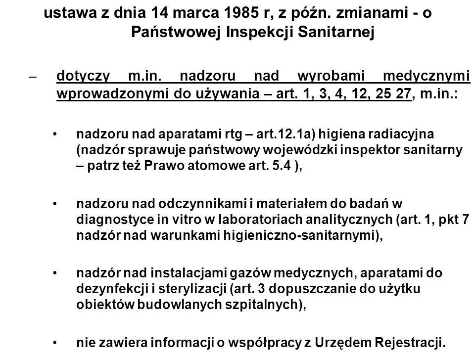 ustawa z dnia 14 marca 1985 r, z późn