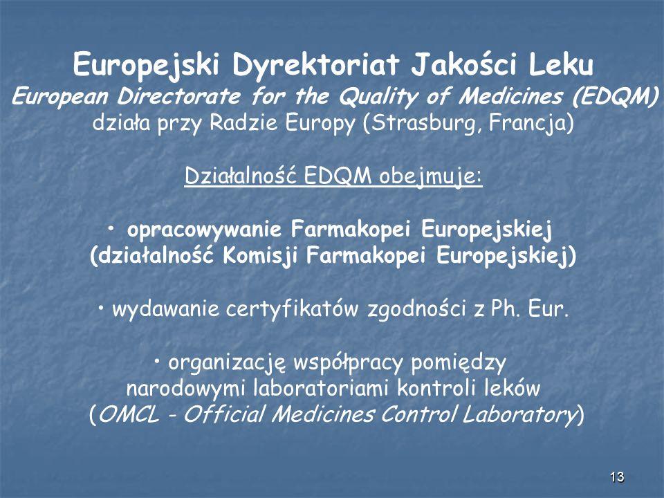 Europejski Dyrektoriat Jakości Leku