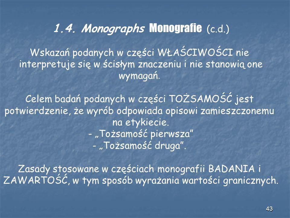 1.4. Monographs Monografie (c.d.)