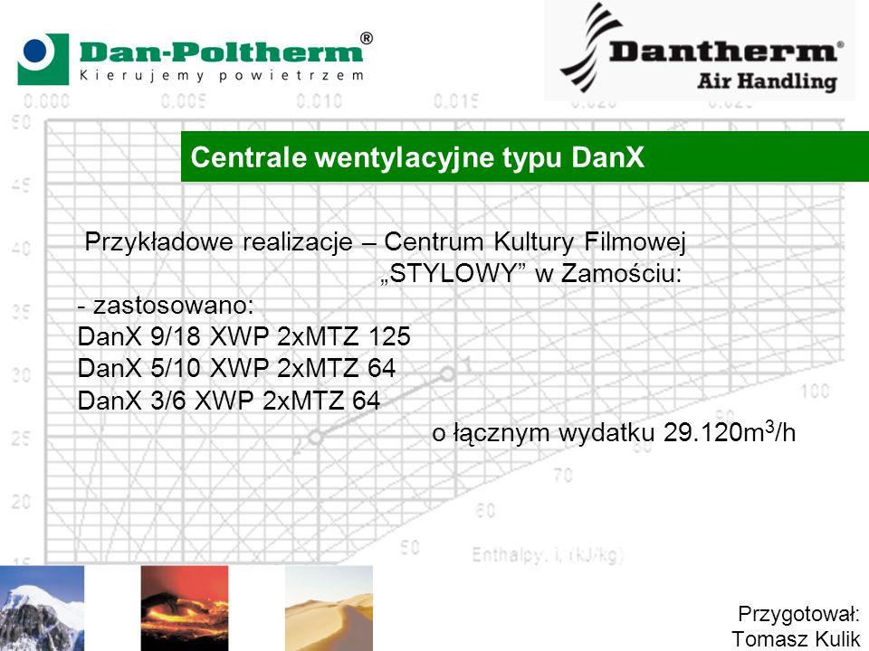 Centrale wentylacyjne typu DanX
