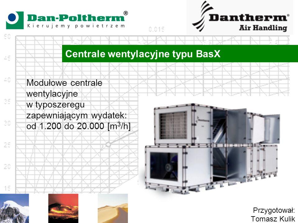 Centrale wentylacyjne typu BasX