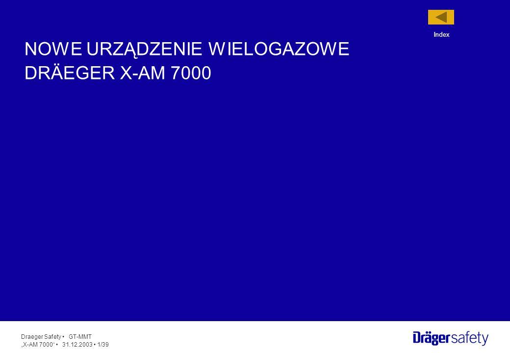 NOWE URZĄDZENIE WIELOGAZOWE DRÄEGER X-AM 7000