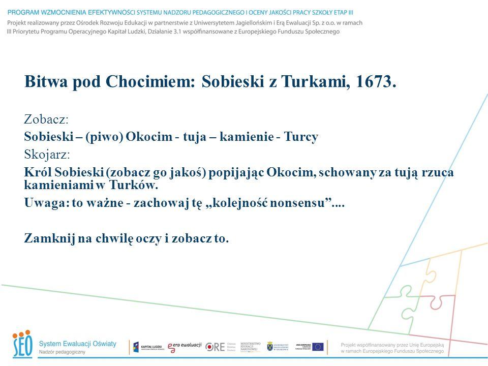 Bitwa pod Chocimiem: Sobieski z Turkami, 1673.