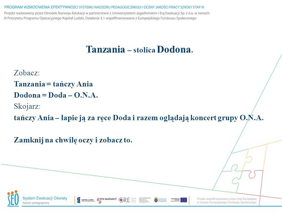 Tanzania – stolica Dodona.