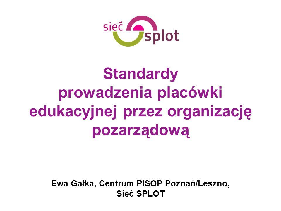 Ewa Gałka, Centrum PISOP Poznań/Leszno, Sieć SPLOT