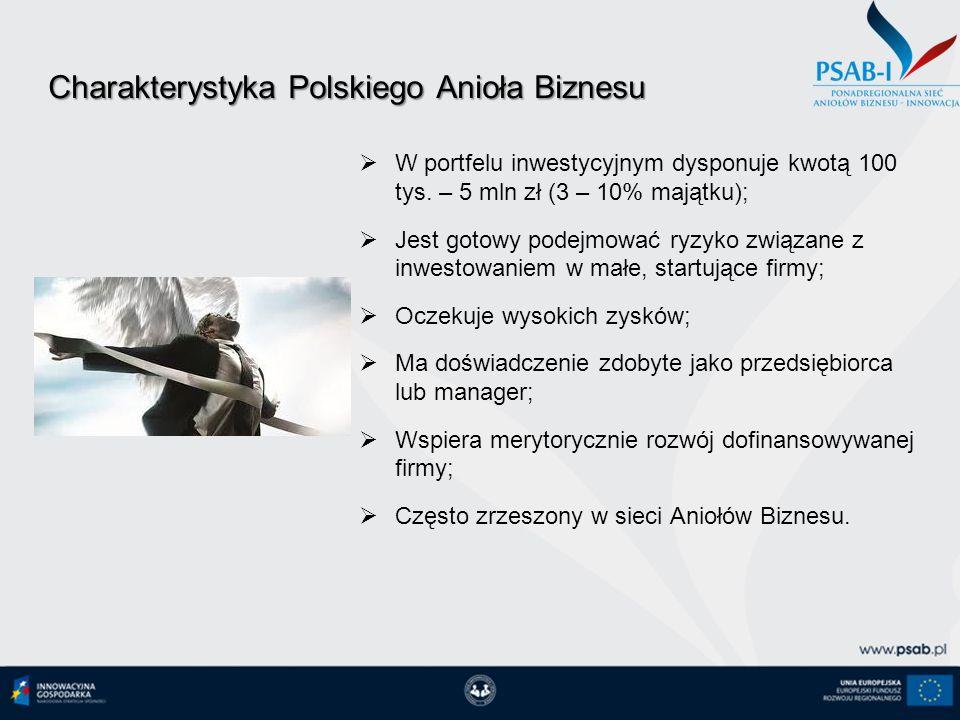 Charakterystyka Polskiego Anioła Biznesu