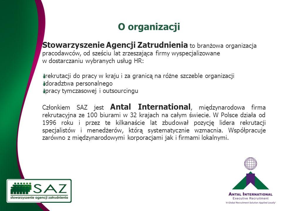 O organizacji
