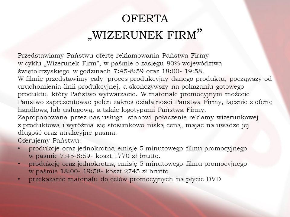 "OFERTA ""WIZERUNEK FIRM"