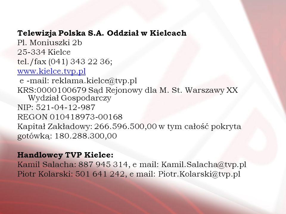 Telewizja Polska S.A. Oddział w Kielcach