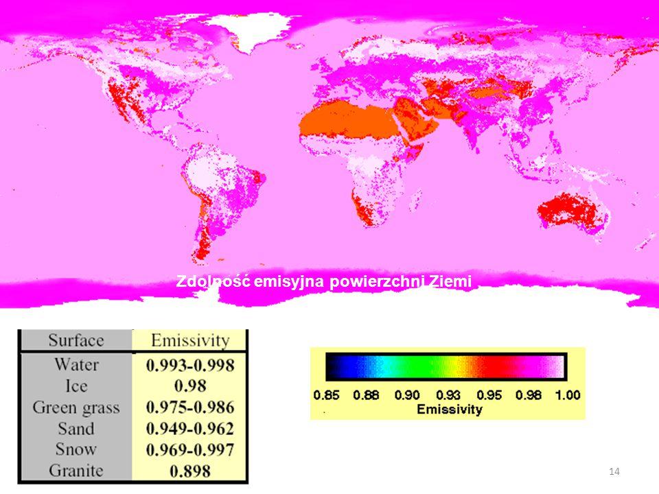 Zdolność emisyjna powierzchni Ziemi