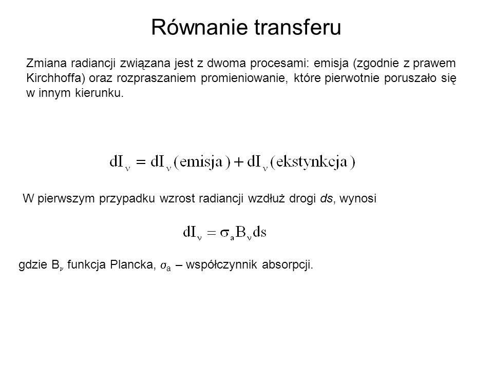 Równanie transferu