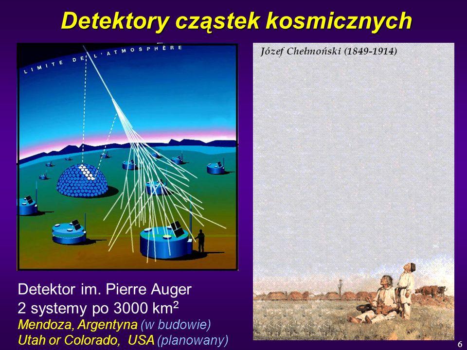 Detektory cząstek kosmicznych