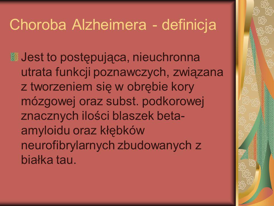 Choroba Alzheimera - definicja