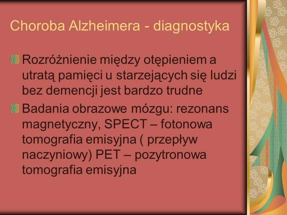 Choroba Alzheimera - diagnostyka