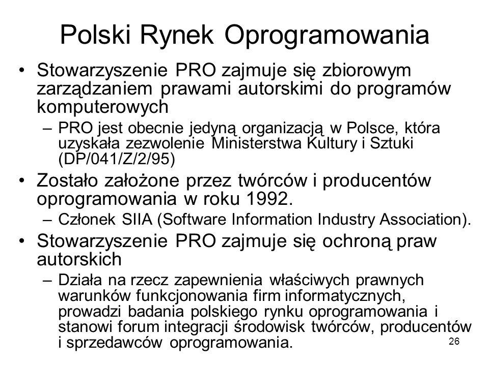Polski Rynek Oprogramowania