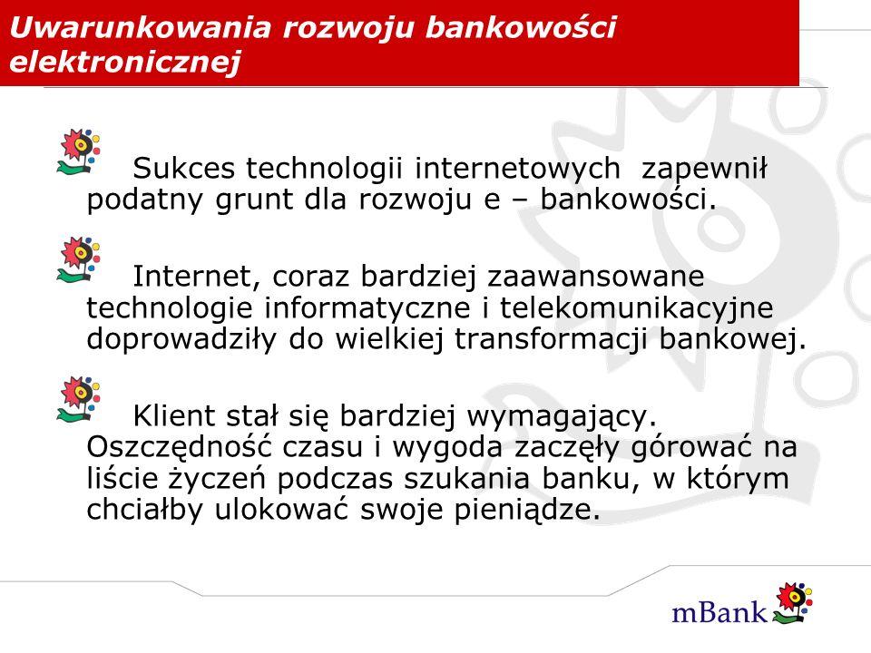 Uwarunkowania rozwoju bankowości elektronicznej