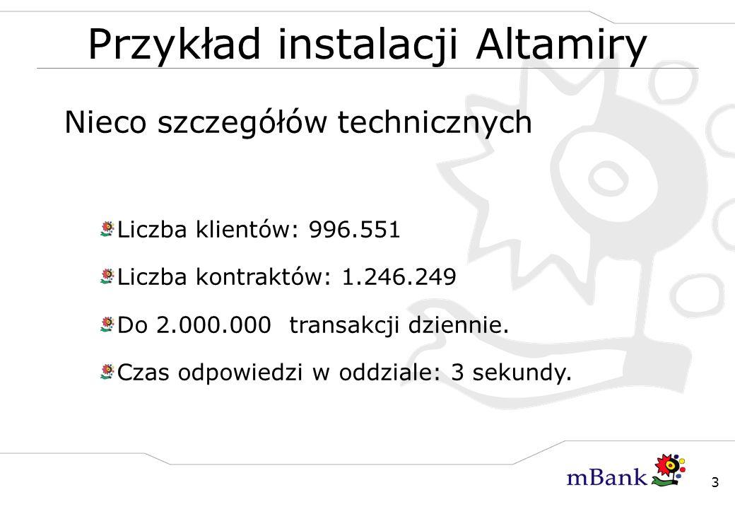 Przykład instalacji Altamiry