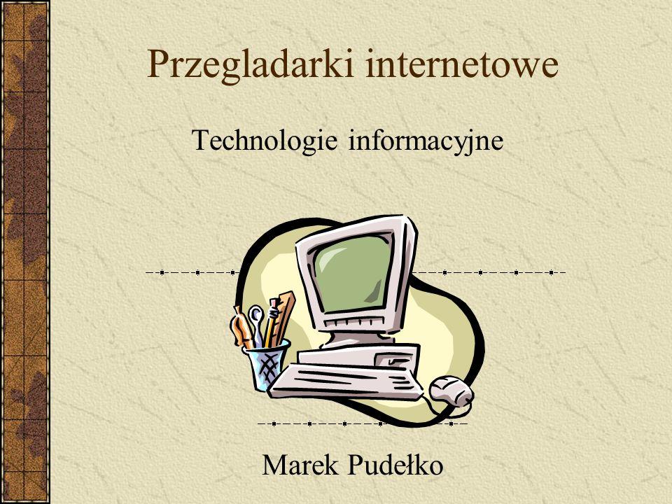 Przegladarki internetowe