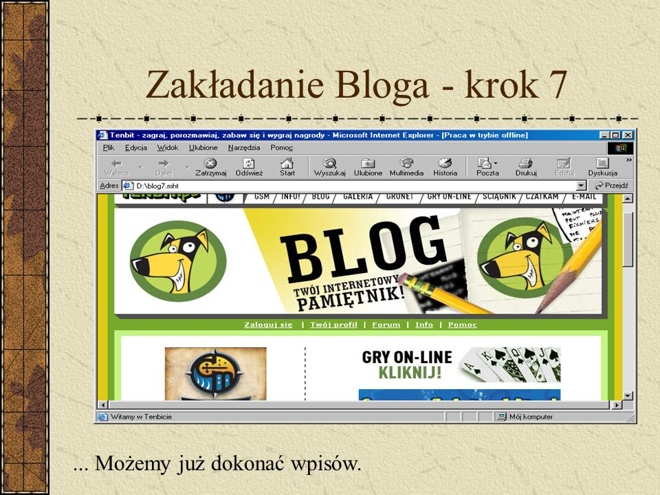 Zakładanie Bloga - krok 7