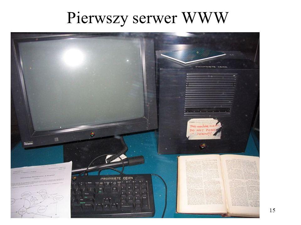 Pierwszy serwer WWW