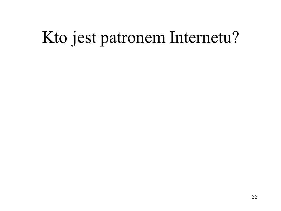 Kto jest patronem Internetu