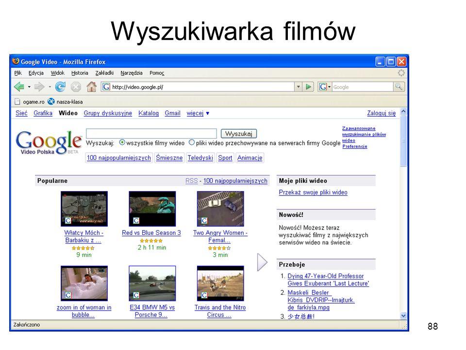 Wyszukiwarka filmów