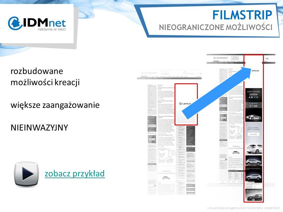 FILMSTRIP NIEOGRANICZONE MOŻLIWOŚCI