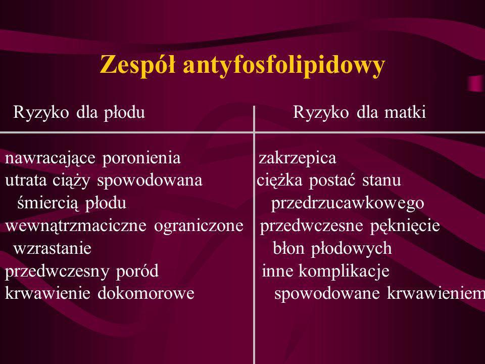 Zespół antyfosfolipidowy