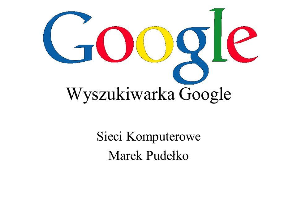 Sieci Komputerowe Marek Pudełko