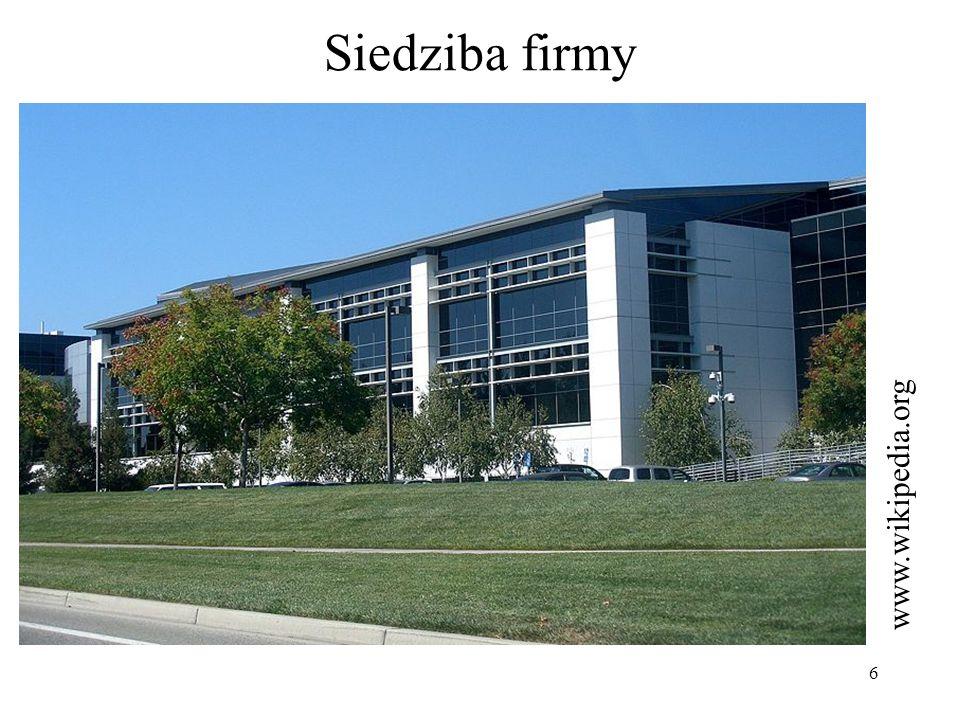 Siedziba firmy www.wikipedia.org