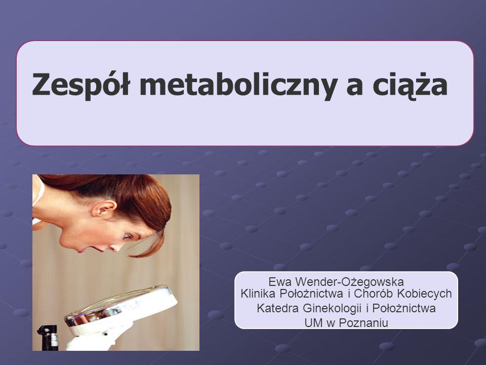 Zespół metaboliczny a ciąża
