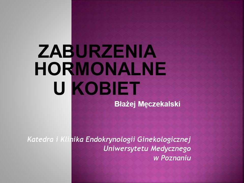 ZABURZENIA HORMONALNE