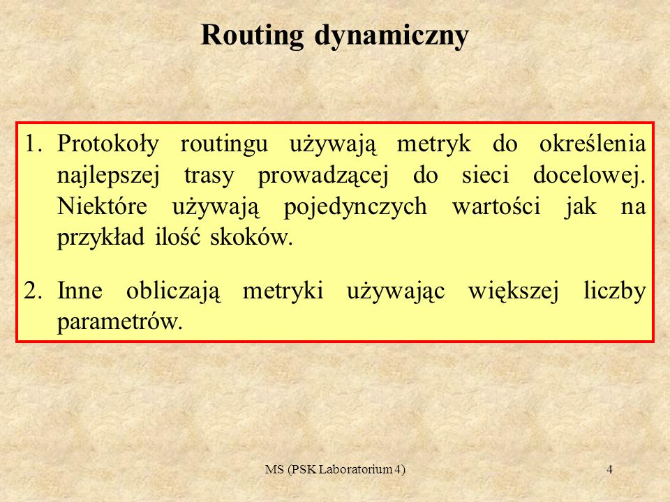 Routing dynamiczny