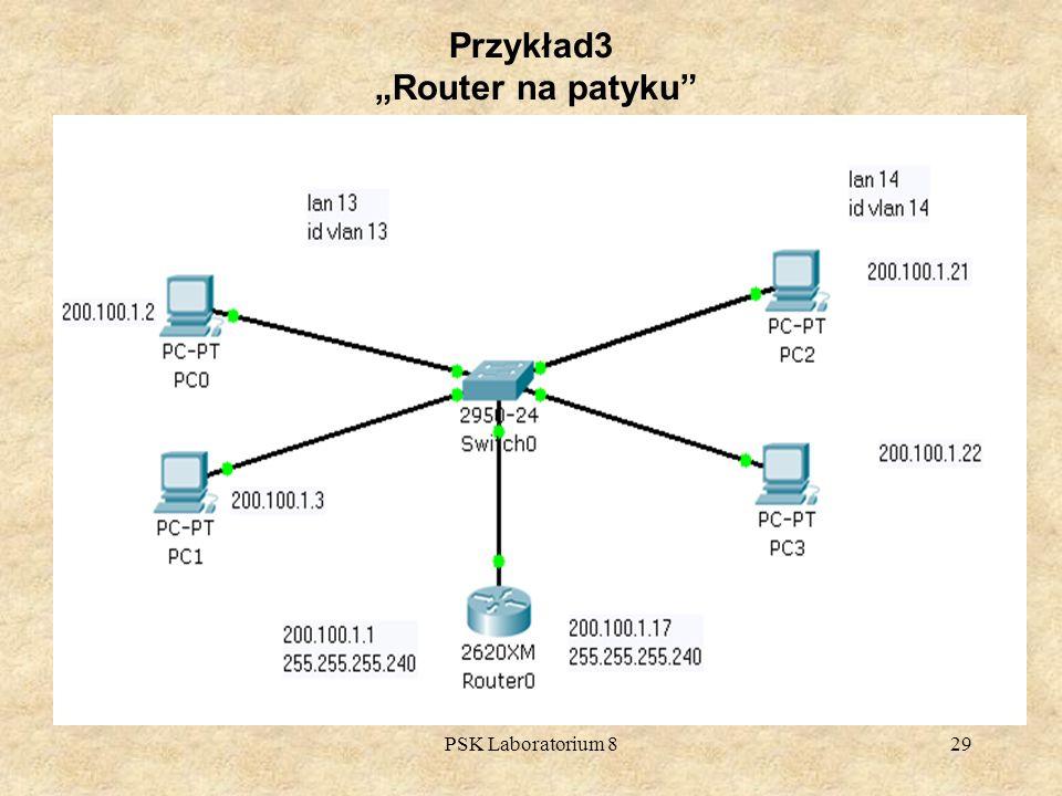 """Przykład3 """"Router na patyku"""
