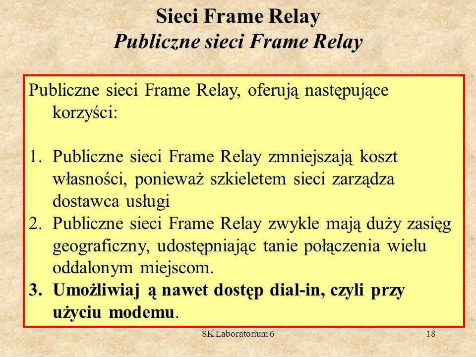 Publiczne sieci Frame Relay