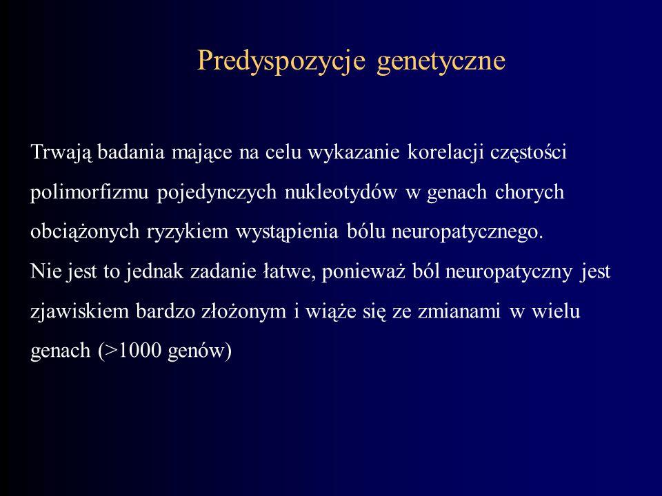 Predyspozycje genetyczne